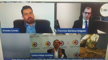 Polémica por visita de fiscal y contralor a San Andrés