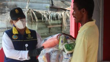 Más de 200.000 ayudas humanitarias entregadas en Cartagena