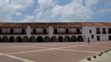 El Centro Histórico permanece cerrado desde el inicio de la cuarentena.