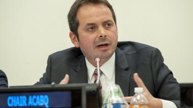 Carlos Ruiz Massieu, secretario general de la ONU en Colombia.