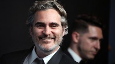 En la gala del año pasado, Joaquin Phoenix ganó como mejor actor.