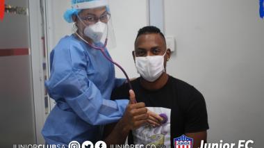 Junior realizó jornada de pruebas médicas