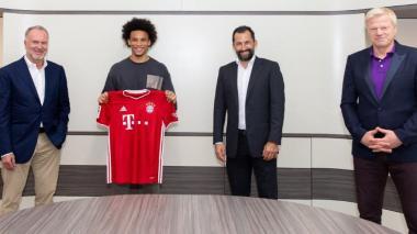 El Bayern de Múnich confirma el fichaje de Leroy Sané hasta 2025
