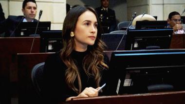 Ana María Castañeda, congresista.