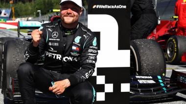 Valtteri Bottas se impone en el GP de Austria