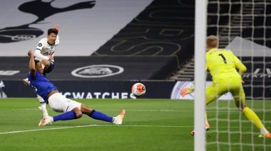 Lo Celso salva al Tottenham frente al Everton, que contó con Yerry Mina