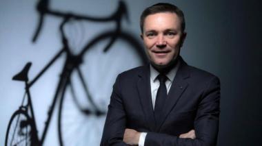 David Lappartient, presidente de la UCI.