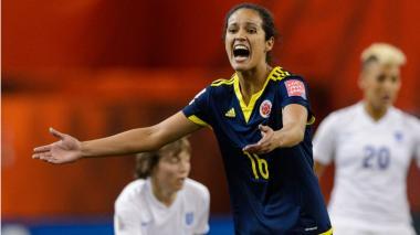 La colombiana Lady Andrade jugará con el Deportivo