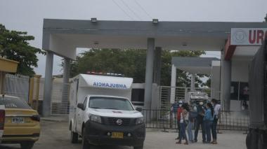 Algunos de los heridos ya fueron trasladados en ambulancia a otras ciudades.