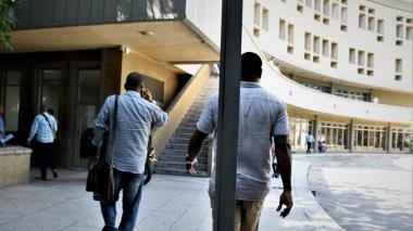 Aspecto del Centro de Servicios Judiciales de Barranquilla.