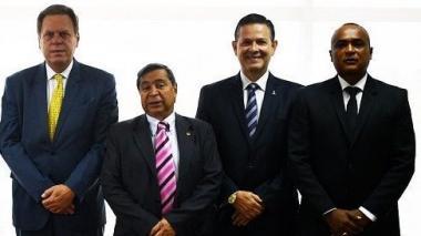 Ramón Jesurun (presidente), Álvaro González Alzate (segundo vicepresidente), Claudio Cogollo (vocal) y Elkin Arce (vocal) son cuatro de los dirigentes sancionados por la SIC.