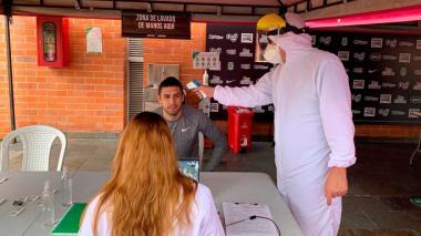 Los jugadores y empleados del Atlético Nacional se sometieron a exámenes médicos desde la semana pasada.