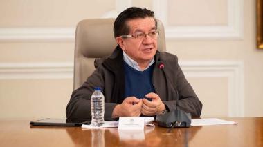 Ministro de Salud y Protección Social, Fernando Ruiz Gómez.