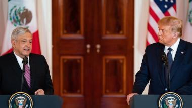 Trump y López Obrador se apoyan en el T-MEC para superar la crisis económica
