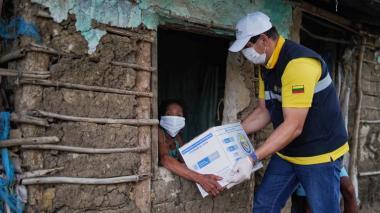 8.000 kits de ayuda humanitaria para víctimas del conflicto en Bolívar