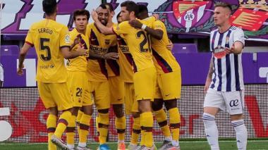 Arturo Vidal no deja caer al Barcelona