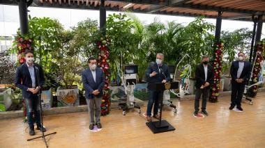 Gobierno Nacional oficializa entrega de 50 ventiladores en Medellín