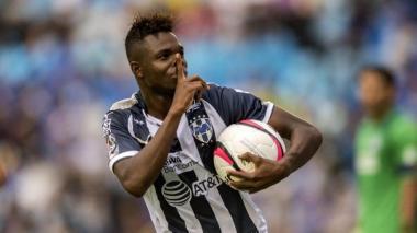 Avilés Hurtado, jugador colombiano del Monterrey.