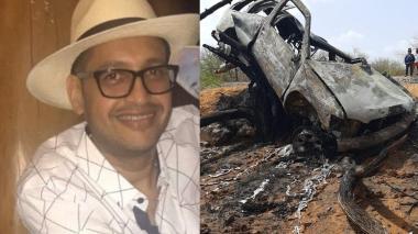 Muere un hombre en choque de dos carros cerca a Manaure La Guajira
