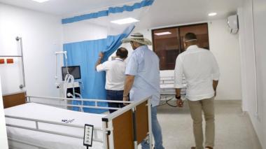 Habilitan nuevo pabellón de UCI en el hospital de Montería