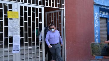 El exjuez de Usiacurí Andrés Rodríguez Caes