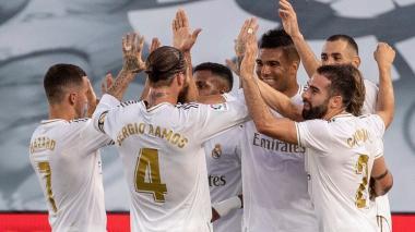 Real Madrid reinició la Liga a ritmo victorioso y alcanzó el título de manera anticipada.