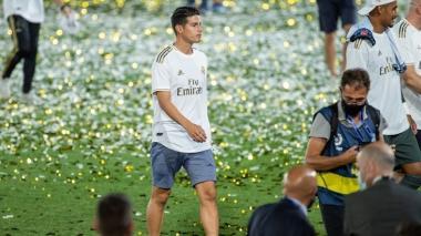 James y Bale, más tiempo en banca que en cancha, pero también son campeones