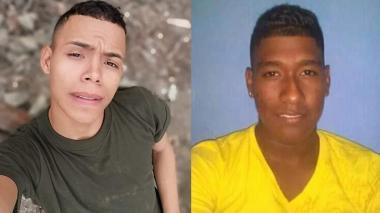 Los fallecidos recientes: Pedro Luis Torres Ariza, de 22 años, y Jaime de Jesús Carrillo Escalante, de 25 años.
