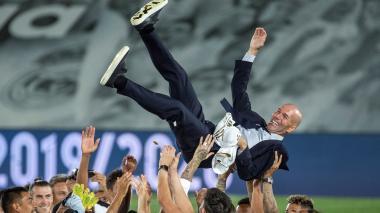 """""""Es uno de los mejores días que he vivido como profesional"""": Zidane"""