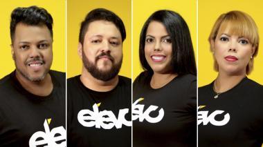 Adrian Mcyorian, Fernando Orozco, Tatiana Bueno y Tania Bueno.