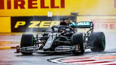 Hamilton saldrá desde la 'pole' en el Hungaroring