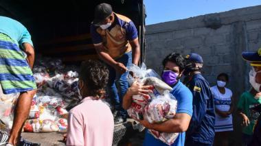 En video | Colectivo de Barranquilla tendió la mano a Tasajera