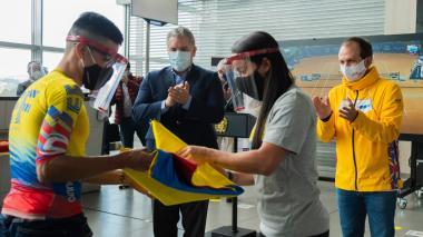 El 'Vuelo del Deporte' ya va rumbo a Europa