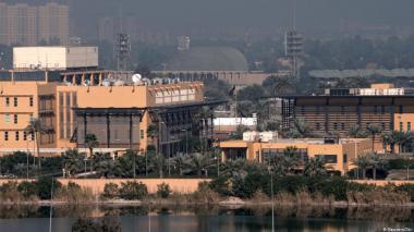 Cohetes impactan cerca de embajada de EE.UU. en Bagdad