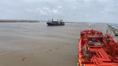 Dimar reanuda operaciones en el Puerto, pero con restricciones