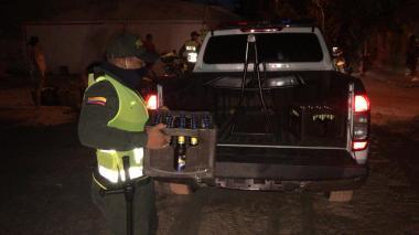 En video   97 fiestas clandestinas fueron suspendidas durante puente festivo