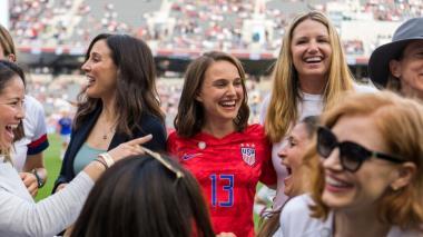 Natalie Portman es la principal fundadora del equipo de fútbol femenino para Los Ángeles.