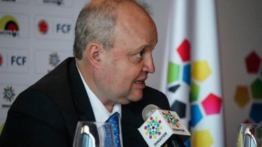 Jorge Enrique Vélez se mantendrá en la presidencia de la Dimayor hasta el viernes, por lo menos.