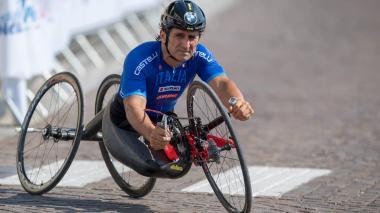 Zanardi ha sido ganador de cuatro medallas de oro paralímpicas en ciclismo.