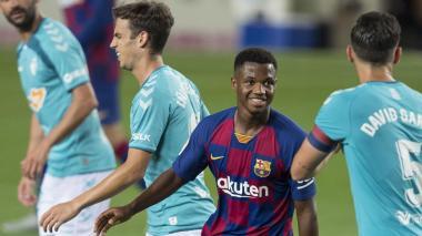 Kubo, Valverde, Fati y Ocampos en equipo revelación de la liga española