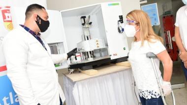 Chemagic 360D: radiografía del robot contra la COVID-19