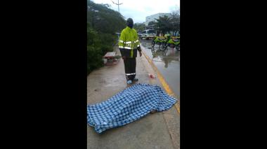 Rayo mata a un hombre en Puerto Colombia