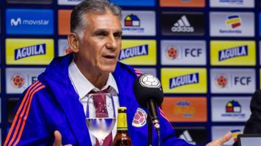 Carlos Queiroz, técnico de la Selección Colombia.