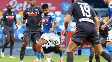 David Ospina, ausente en la derrota del Nápoles