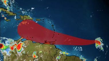Territorios caribeños atentos al desarrollo de la tormenta tropical Gonzalo