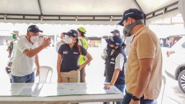 Así funcionará el nuevo cerco sanitario en el suroccidente de Barranquilla
