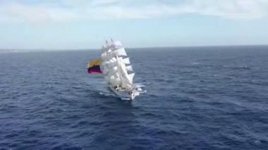 En video | Armada Nacional celebra 197 años de proteger el azul de la bandera