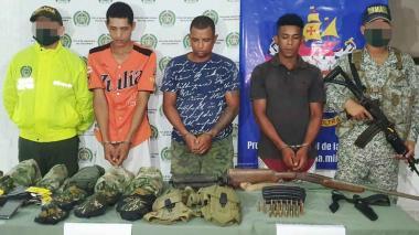 Caen 3 presuntos integrantes del Clan del Golfo en Sucre