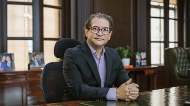El ministro de Agricultura, Rodolfo Enrique Zea.