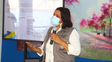 Secretaria de Salud, Viviana Flórez Barros.